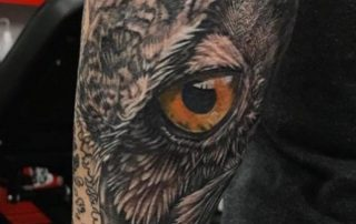 Realism Owl Tattoo by Liberty