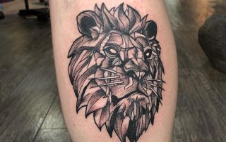 Lion Tattoo by Laura