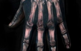 Skeleton Hand Tattoo by Liberty