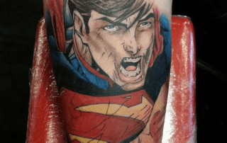 Superman Tattoo by Mike