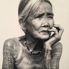 Whang-Od Ogay, a Filipina tattoo artist