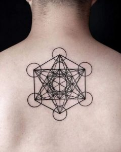 Metatrons Cube Tattoo