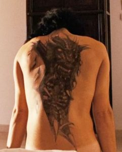 girl with dragon tattoo Swedish version