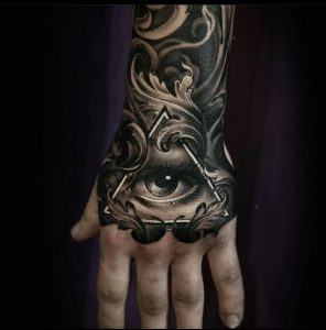 painful places to get tattooed hand