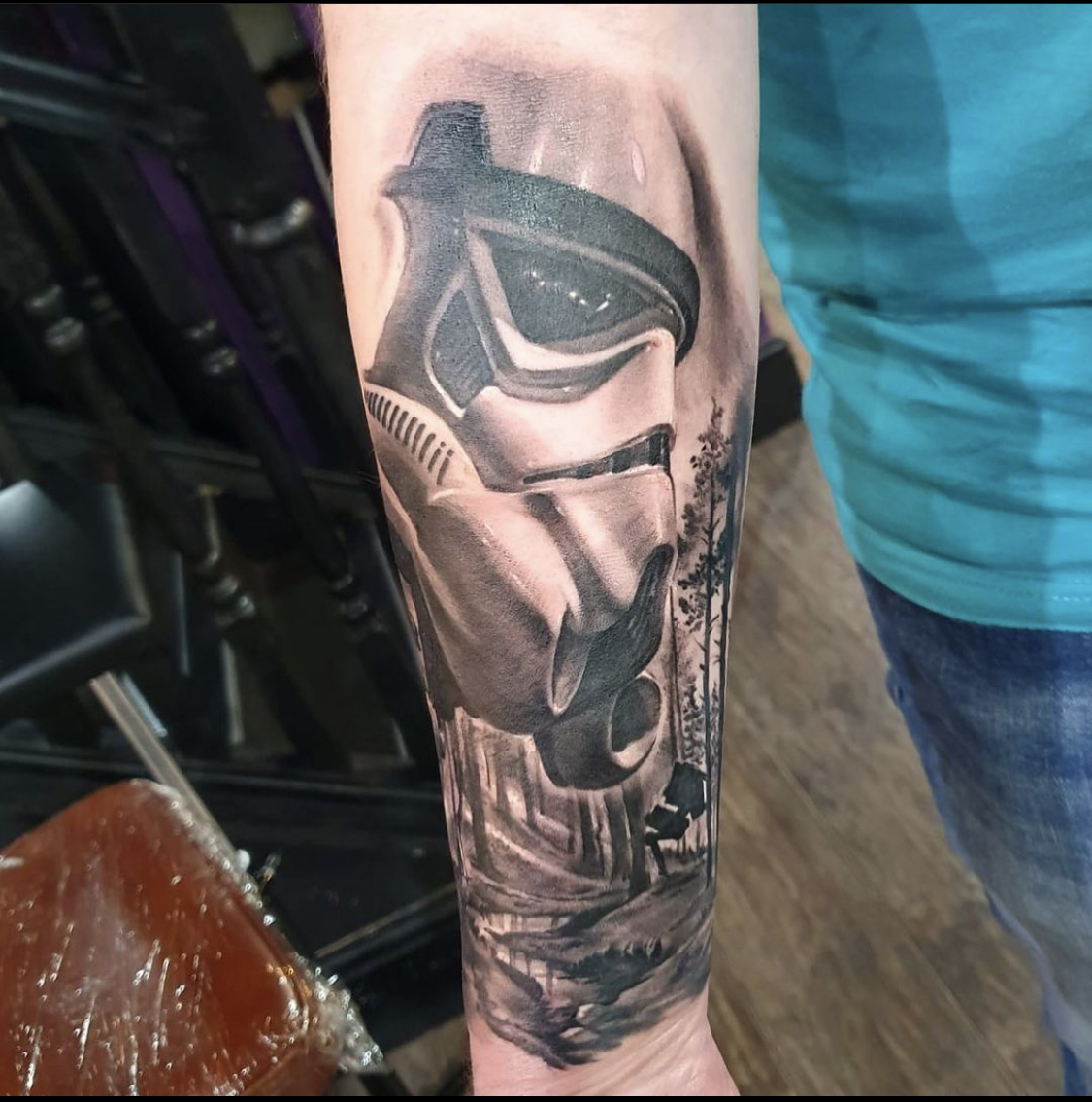 Stormtrooper Star Wars tattoos